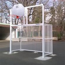 Combiné hand basket barreaudé