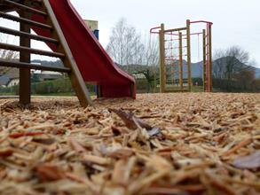 Copeaux de bois naturels pour aires de jeux