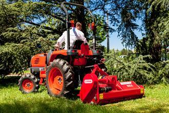 Tondeuses-débroussailleuses adaptable sur tracteurs