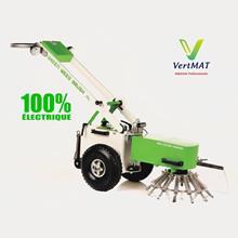 Brosse de désherbage professionnelle 100% électrique