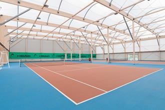 Halle de tennis