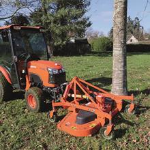Tondeuse adaptable sur tracteurs
