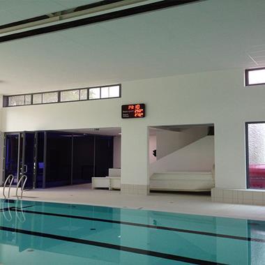 Tableau d'affichage piscine - Photo