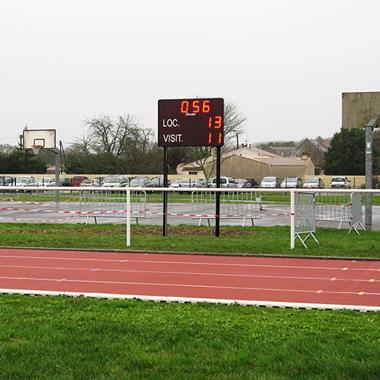 Tableau de scores multisport extérieur - Photo