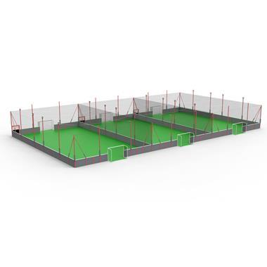 Terrain de soccer - Photo