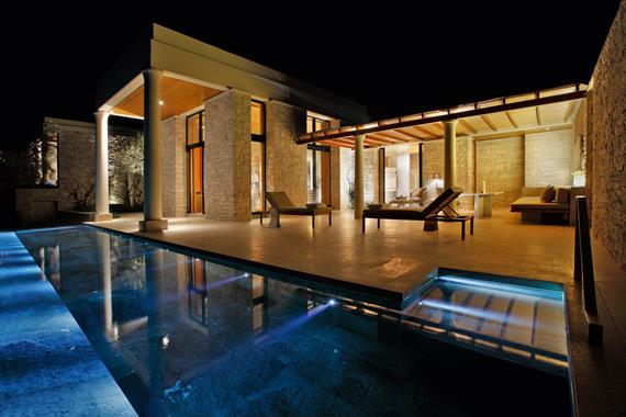 Eclairage Led pour bassins - Photo