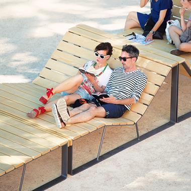 Grande chaise longue - Photo 1