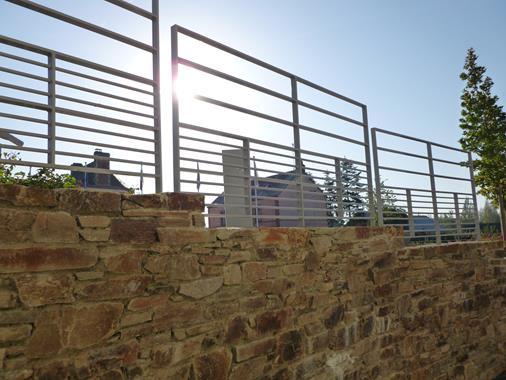 Barrière sécurisée - Photo