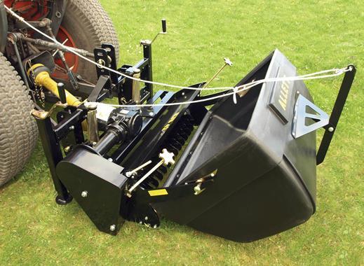 Tondeuses hélicoïdales - Scarificateur monté sur tracteur  - Photo 1
