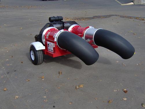 Souffleur sur roues - Photo