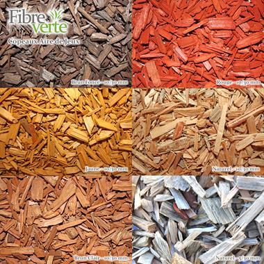 Copeaux de bois aire de jeux - Photo 1