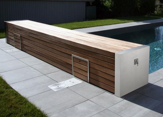 Couvertures et volets piscines  - Photo