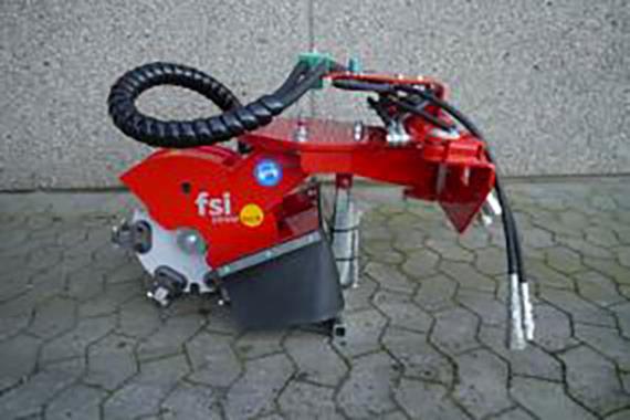 Dessoucheuses - Déssoucheuse entrainement hydraulique - Photo 1