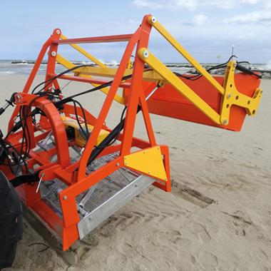 Nettoyeur de sable - Photo